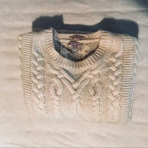 J. Crew Cable-knit Fisherman's Sweater
